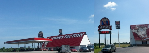 Redmon's on I-44 in Oklahoma. One of the stops I must make when driving from Illinois to Oklahoma.