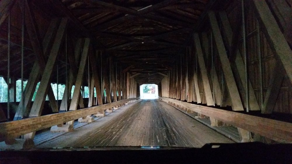 Covered bridge, Ashtabula County, Ohio