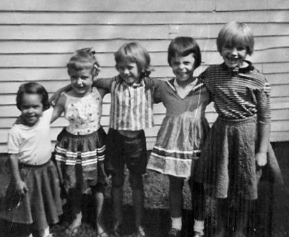 Childhood friends, West Frankfort, Illinois