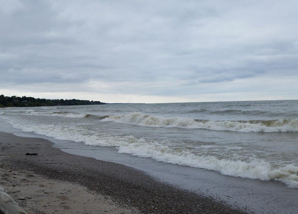 Lake Erie, Ashtabula County, Ohio. Photo by Laura Wasson Warfel.