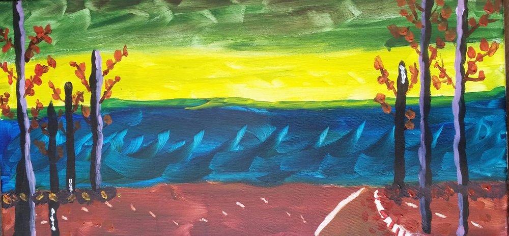 Painting by Laura Wasson Warfel