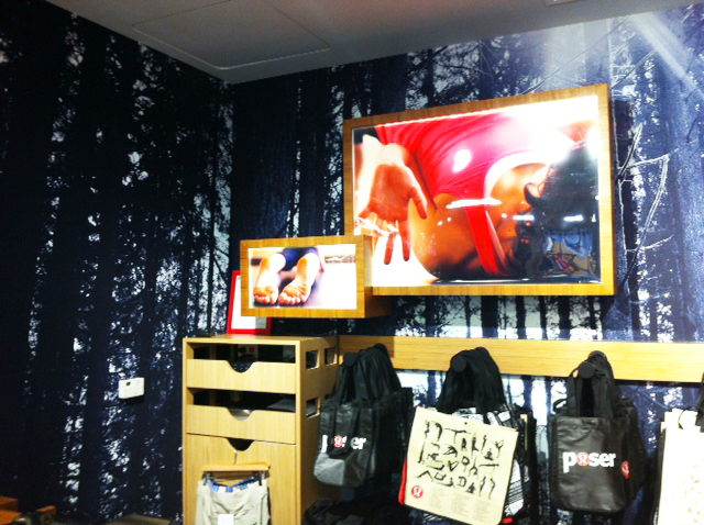 Lululemon Light boxes