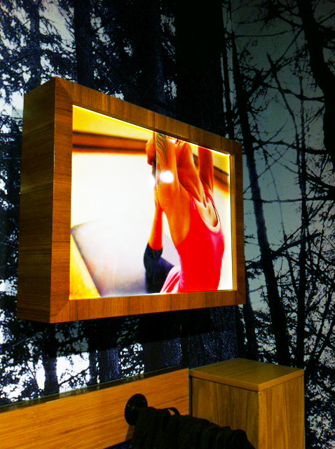 Backlit Film