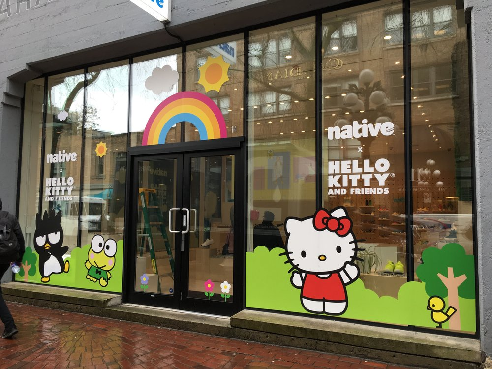 538fc16223 Native x Hello Kitty and Friends
