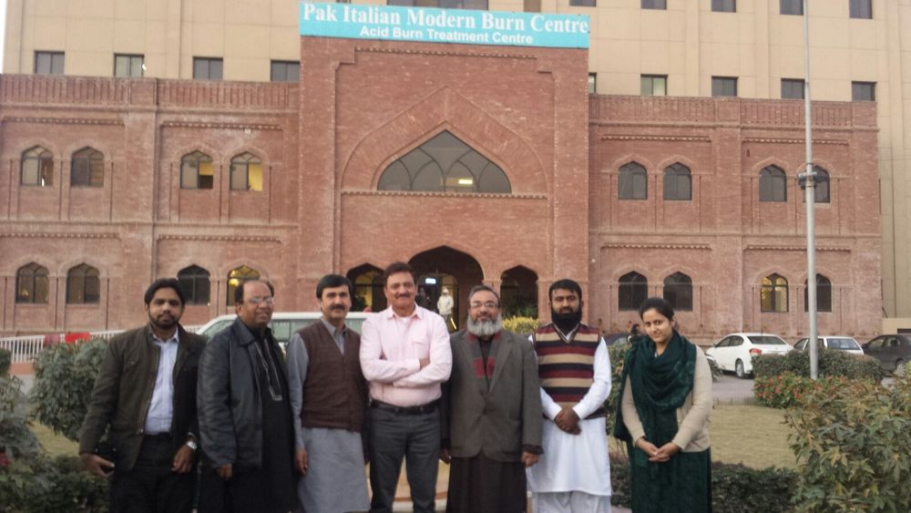 Visiting Burn and Plastic Surgery Unit, Multan, Pakistan in January 2016 which is an independent Hospital.