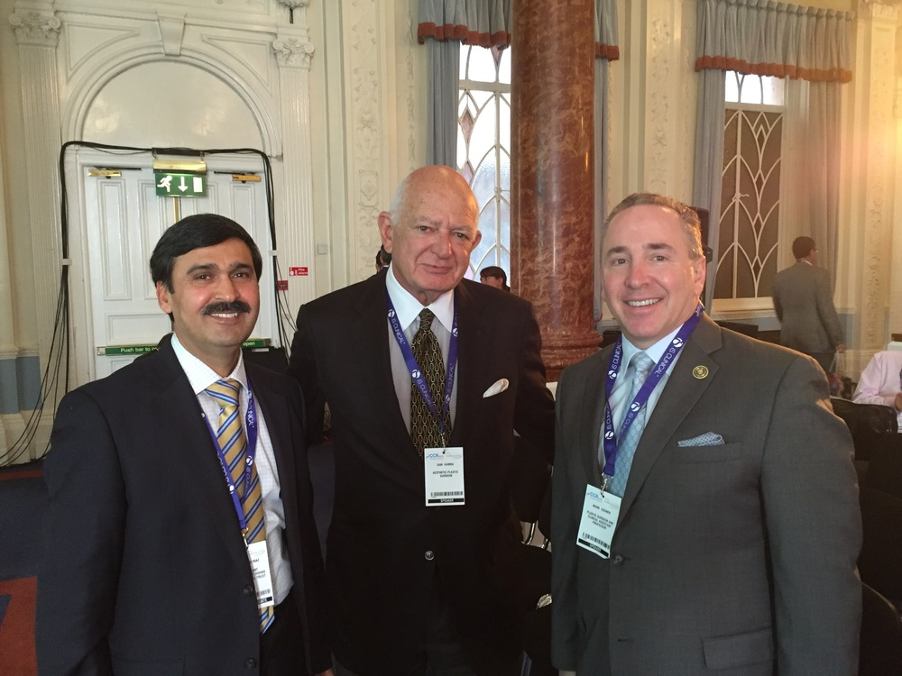 With Dr Sam Hamra and Dr Mark Codner