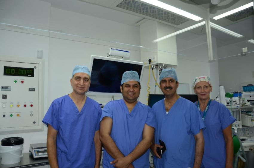 Dr Aseem Tufchi, Mr Prakash Lohana, M Riaz, Ms Annette Middleton