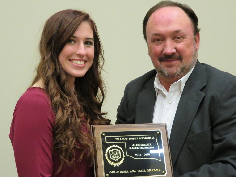 Alexandria Rachtschenia Award.JPG
