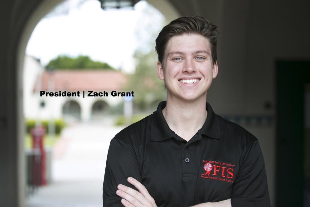 President - Zach Grant