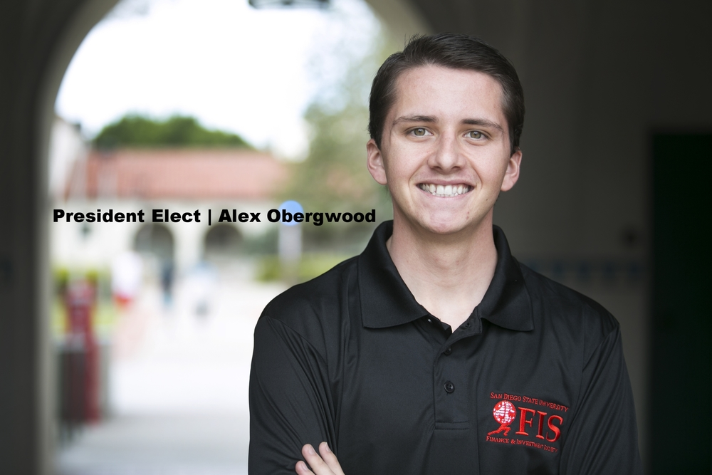 President Elect - Alex Obergwood