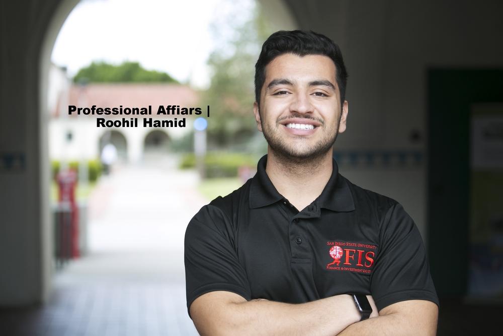 VP of Professional Affairs - Roohil Hamid