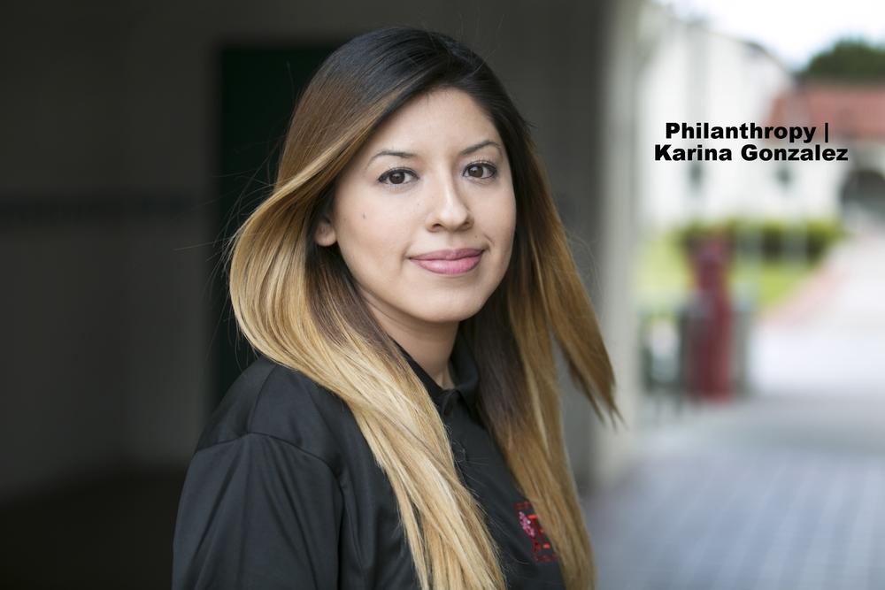VP of Philanthropy - Karina Gonzalez