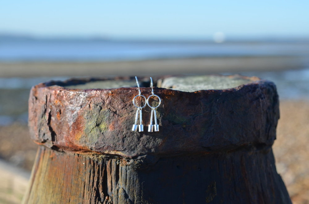 Silver Bell Earrings £70