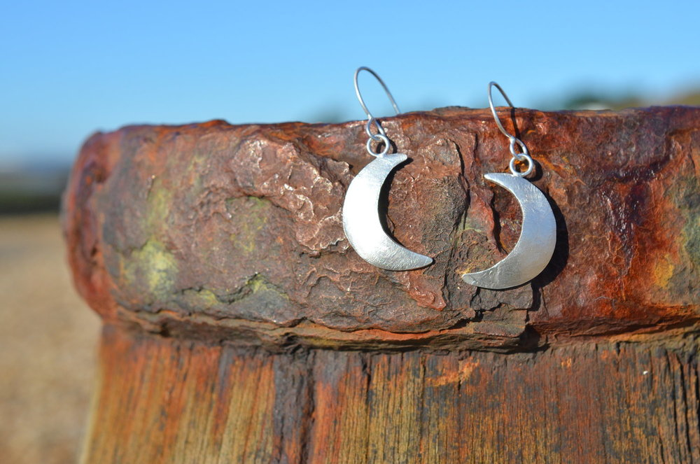 Crescent Moon Earrings £35-£40