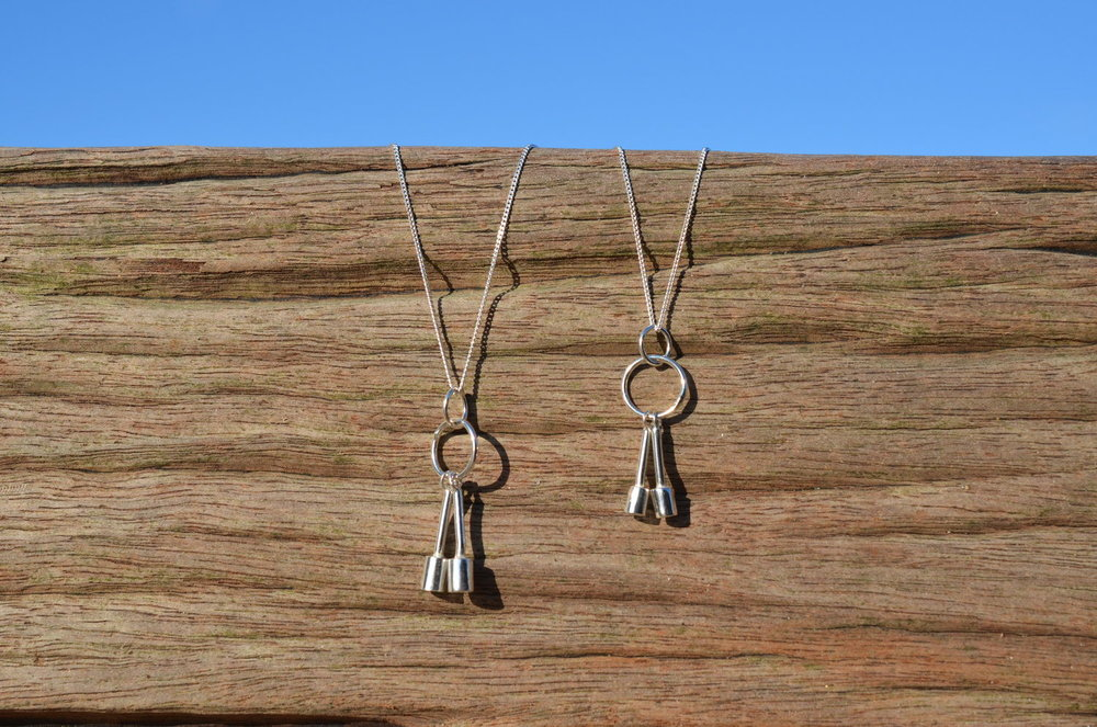 Silver Bell Pendant £65-£70