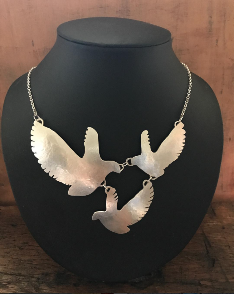 Silver Bird Revamp Necklace £200+ (Sold)