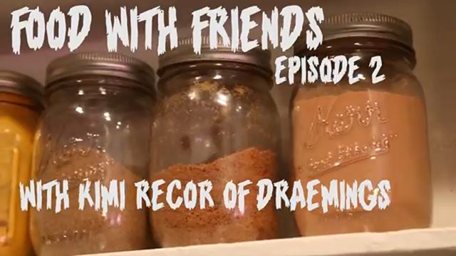 #FOODWITHFRIENDS #2 is out! Spend sometime with the otherworldly @k___imi and learn about all her secrets! Treating depression by #pickling and help cultivate a beautiful music scene in Los Angeles! . . . . . Check out the link in the bio to be magically transported to our YOUTUBE 💕