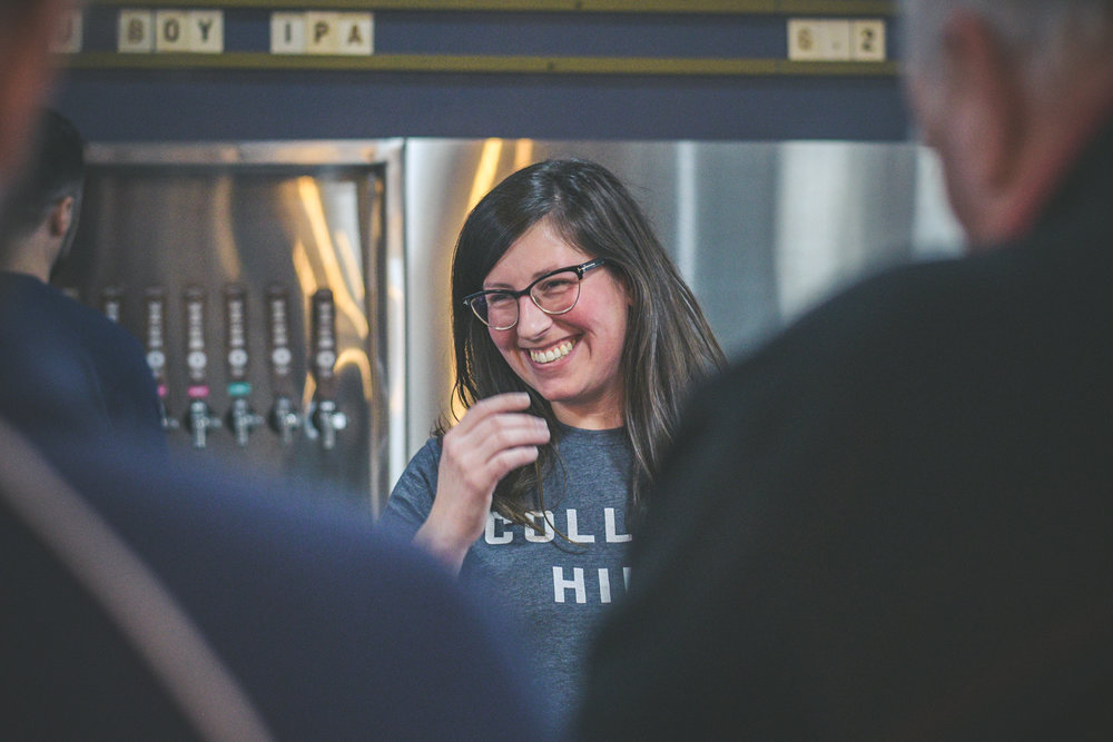 Sarah Hyatt   Tap Room Manager