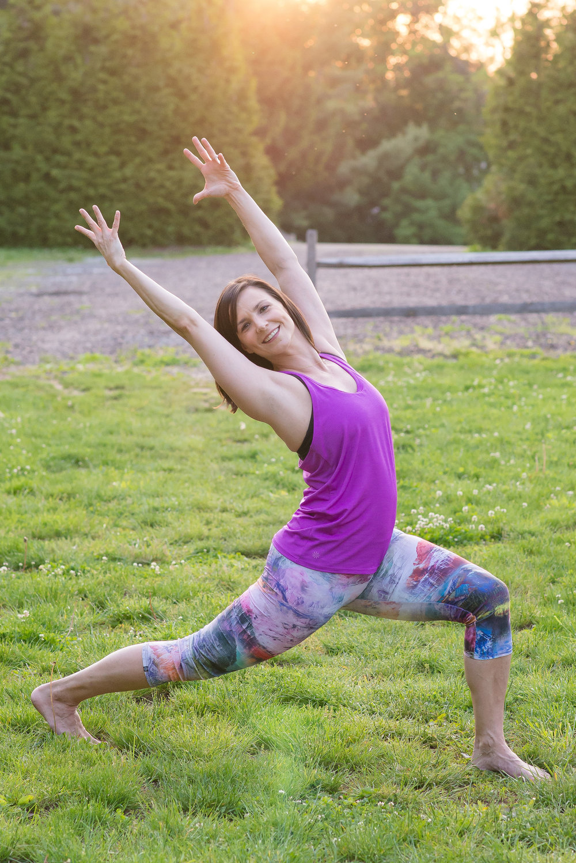 High Lunge Yoga