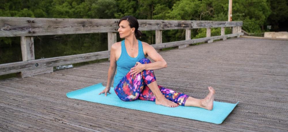 Yoga Seated Twist