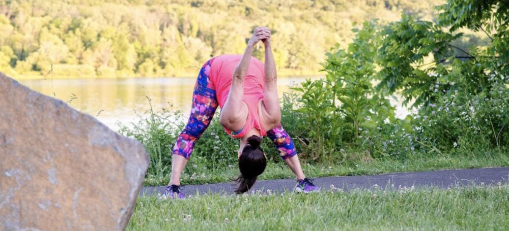 Yoga Wide Legged Forward Fold