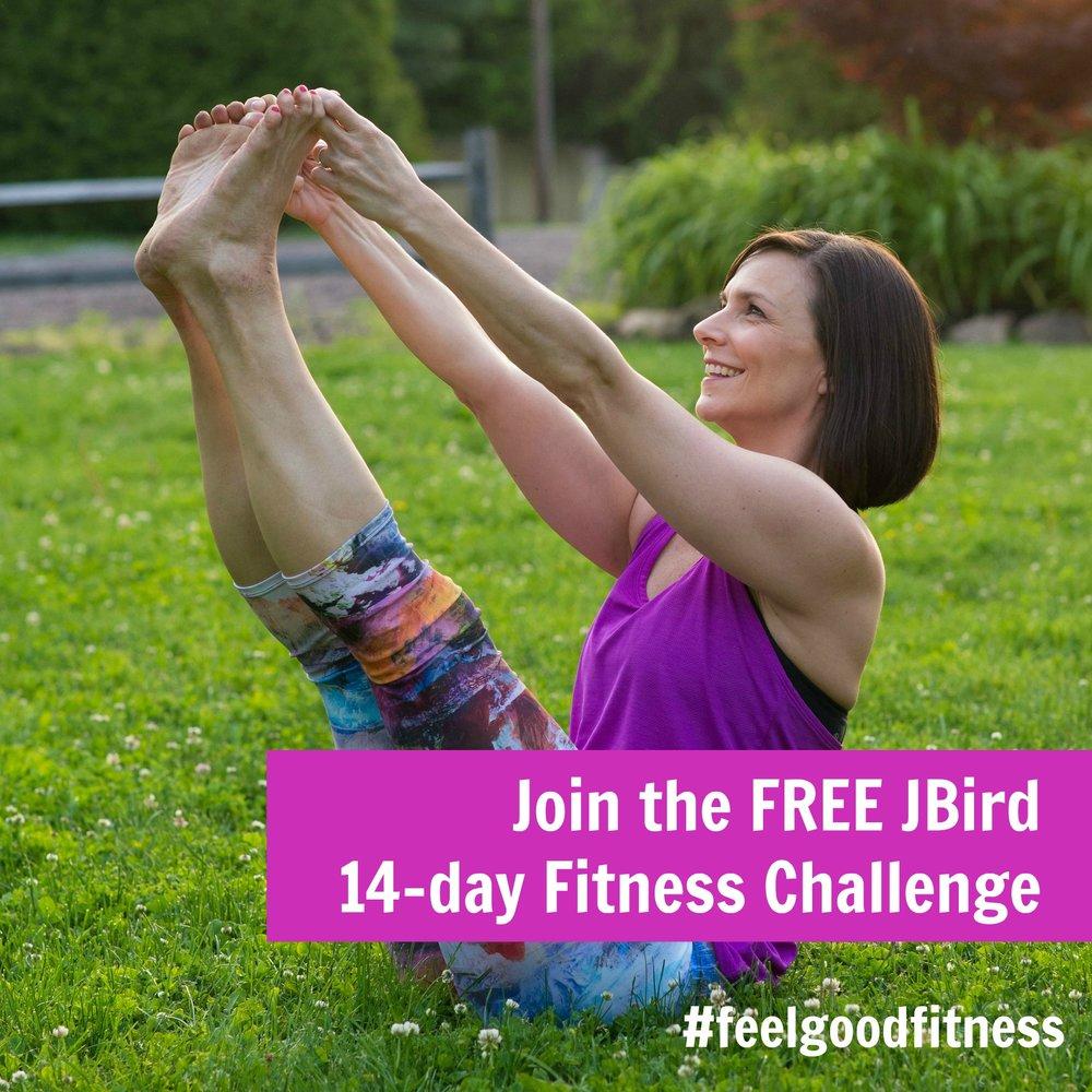 JBird Fitness Challenge #feelgoodfitness