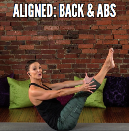 Back and Abs Fitness Video