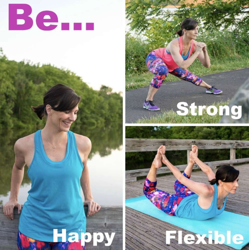 Strong Flexible Happy Fitness