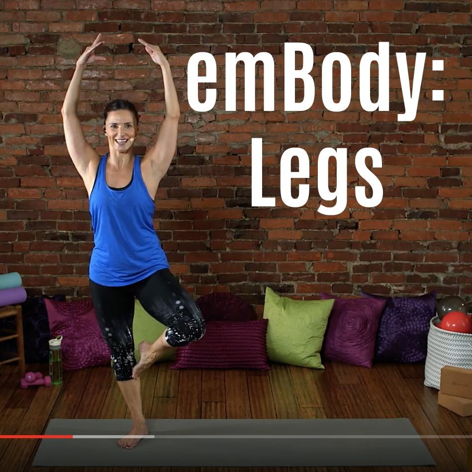 Barre Leg Workout Video