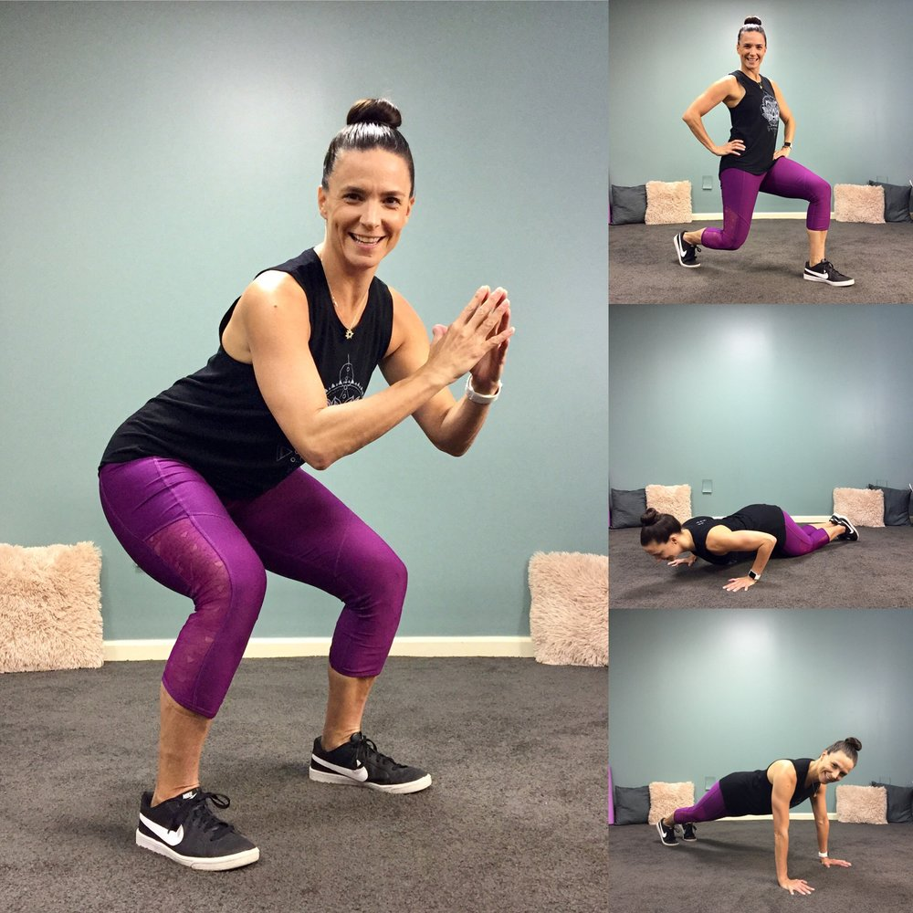 Total Body Workout in 4 Minutes