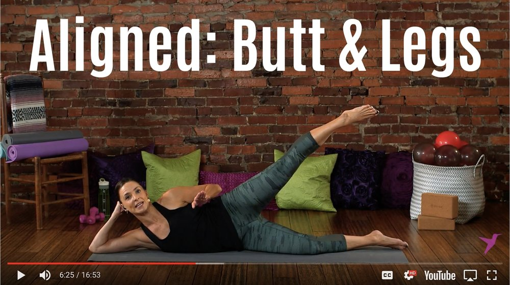 Butt Legs Workout Video