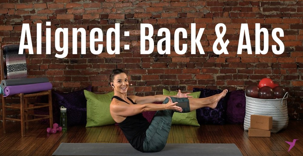 Back and Abs Workout Video