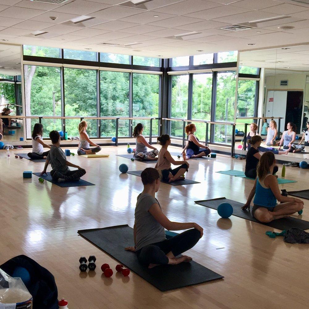 Central Bucks Family YMCA Barre Class