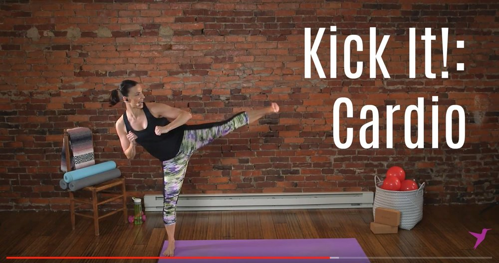 Quick Cardio Kick Workout Video