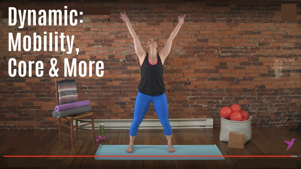 Dynamic: Mobility, Core & More Workout Video