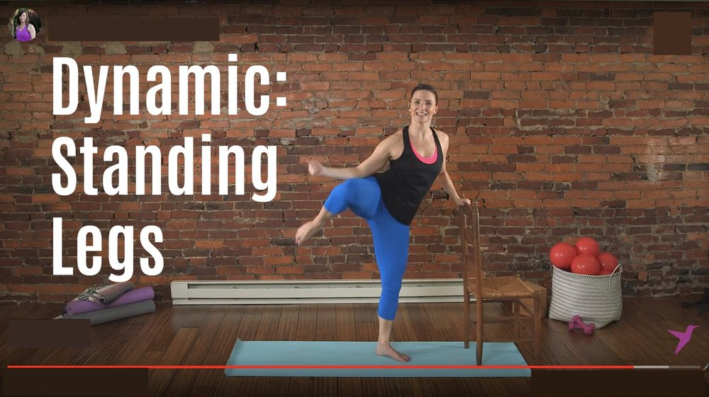 Barre Leg Workout Video