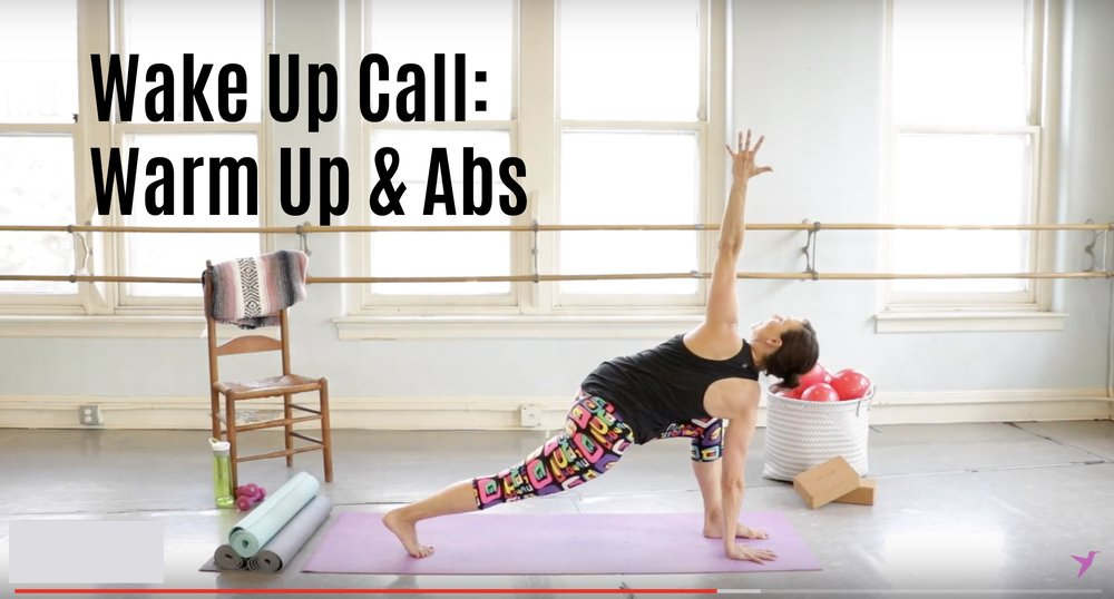 Warm Up and Ab 10 minute Workout Video JBird Fitness