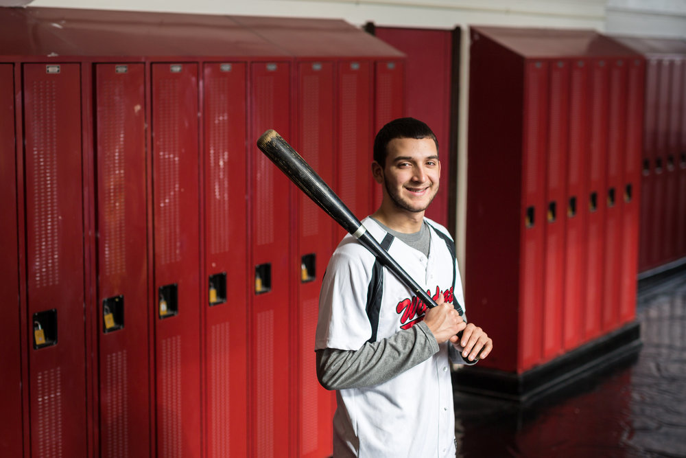 Justin Diaz, Junior Sabin Elementary School Lake View High School Baseball Honors- Junior Area Codes Team Committed to Illinois State