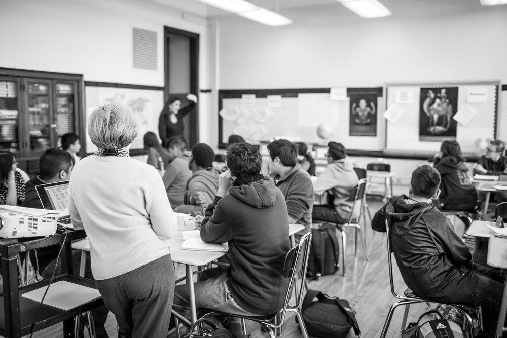 AMUNDSEN AND LAKE VIEW HIGH SCHOOL GROW ENROLLMENT