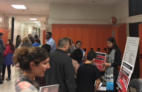 Grow/northcenter high school fair at Lake View