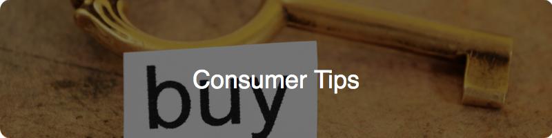 consumer tips