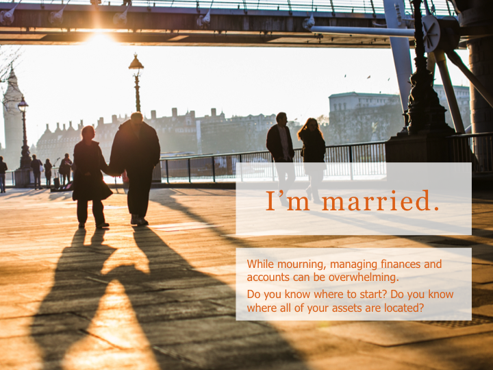 I'm married - I don't need estate planning.