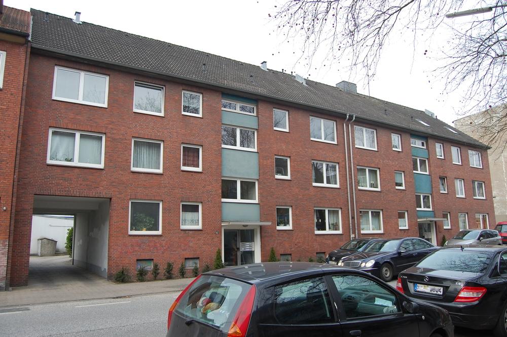 Wandsbek, Holzmühlenstraße, 20 WE, 12 Garagen