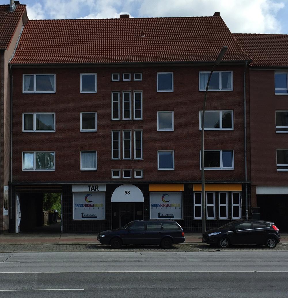 Eilbek, Wandsbeker Chaussee, 8 WE, 1 GE