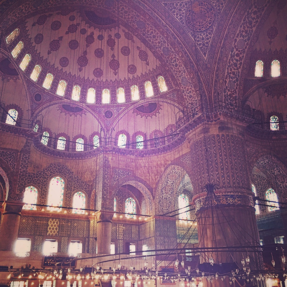 The Blue Mosque, Sultanahmet District, Istanbul, Turkey, 2015