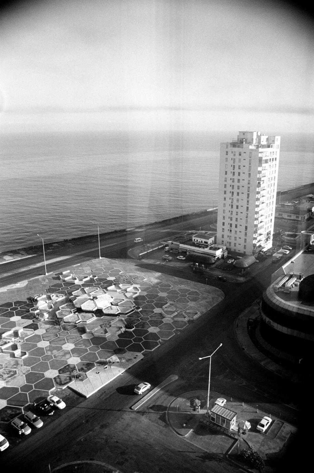 View from Hotel Meliá Cohiba, Havana, Cuba, 2004