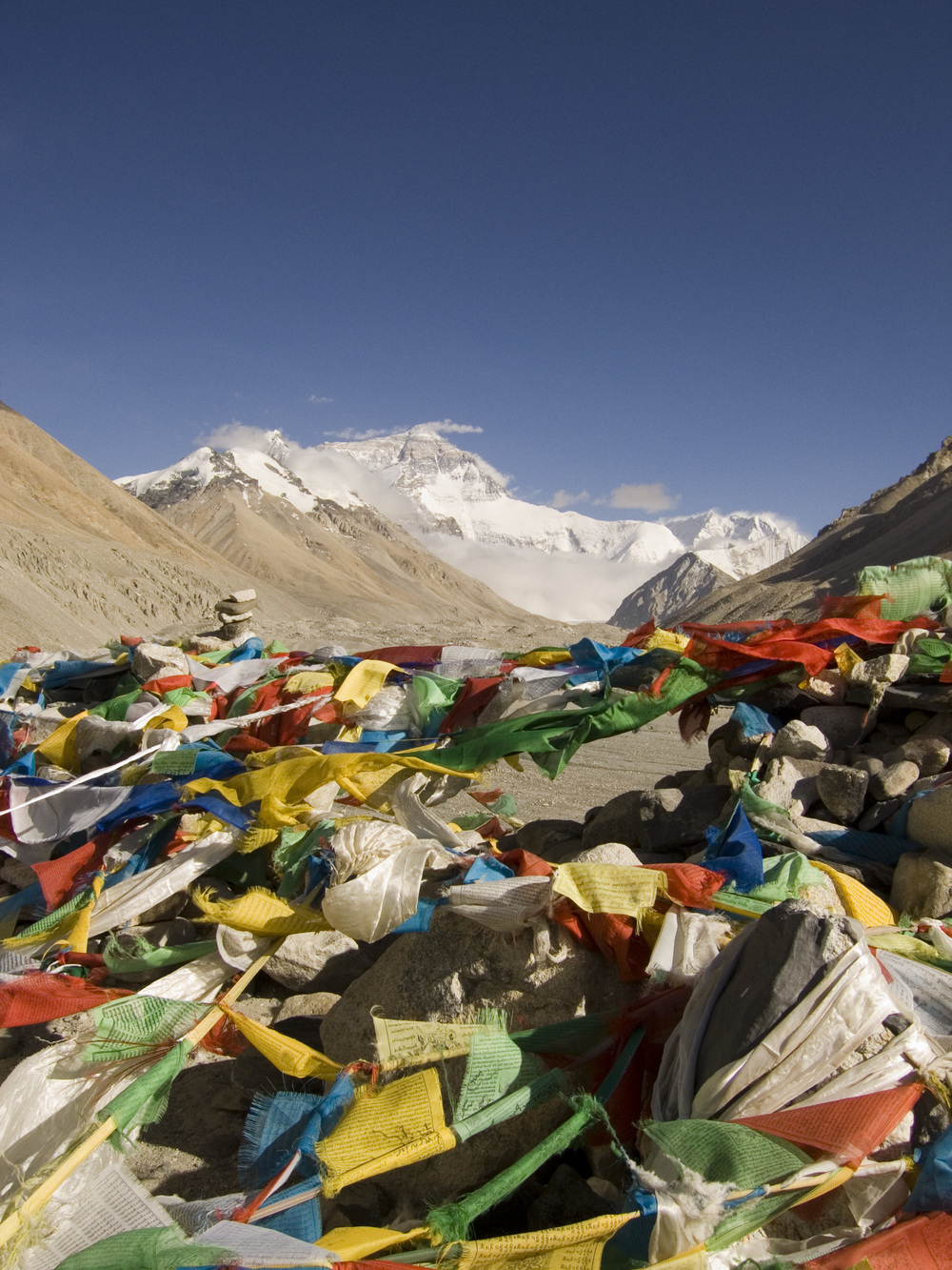 Everest Base Camp (elevation 17,060 ft.), 2007