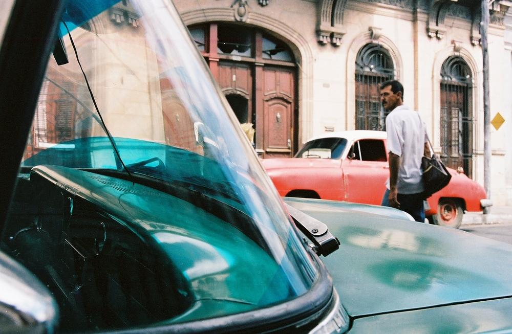 Crossing, Havana, Cuba, 2004