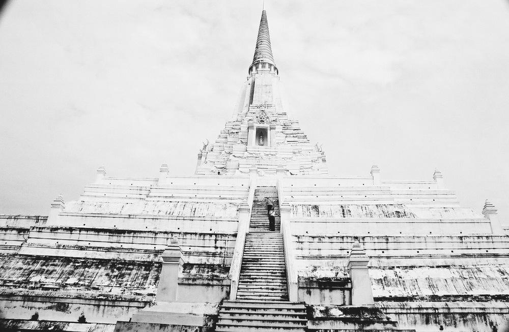 Wat Phu Khao Thong, Ayutthaya, Thailand, 2005
