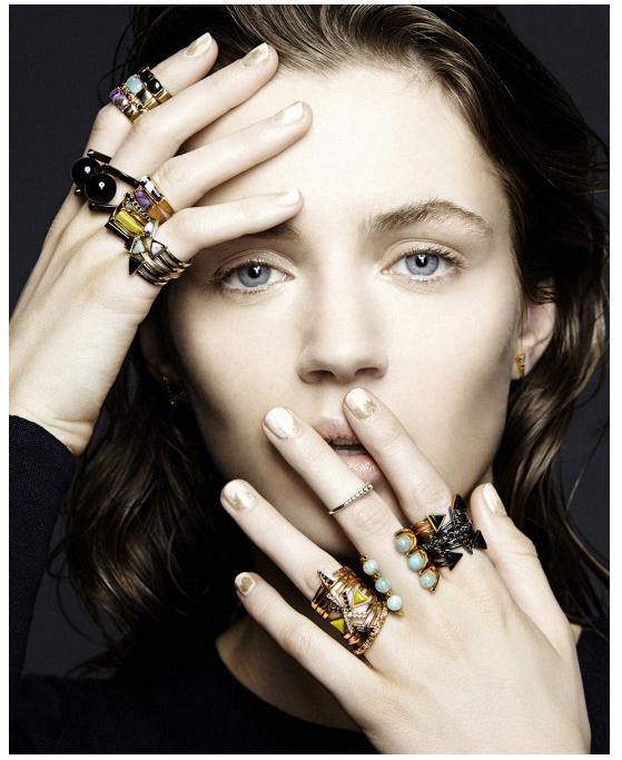Stanmore Jewelry FW2015 – Luzena Adams